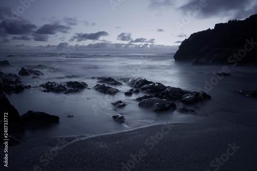 Photographie  Seascape at dusk