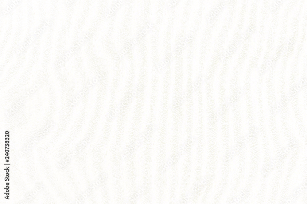 Fototapety, obrazy: Clean white textile background. Silk cloth texture. Fabric pattern.