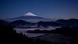 吉原から月夜の雲海に浮かぶ富士山Timelapse固定版-DF
