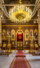 Ortodox Church Interior Russia