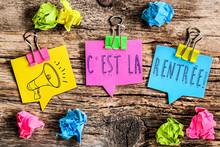 Note Post-it : C'est La Rentrée