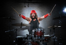 The Drummer In The Red Cylinder