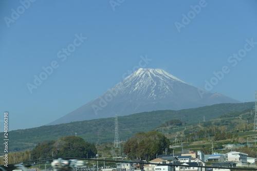 Plakat Góra Fuji