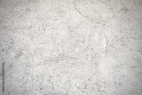 Fotografie, Obraz  粗いコテ跡のある白壁