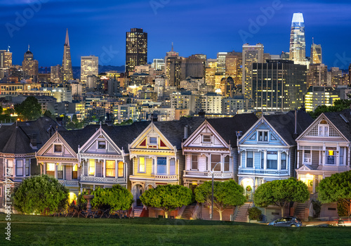 Painted Ladies in San Fran Wallpaper Mural