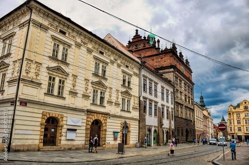 Plzen, Altstadt mit Rathaus