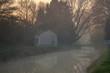 Morgenstimmung in der Camargue / Morgennebel im Winter