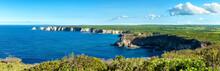 """pointe De La Grande Vigie"" Cliffs, Panoramic View,Guadeloupe, French West Indies"