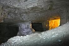 Caves Of Zedekiah. The Quarry Of King Solomon
