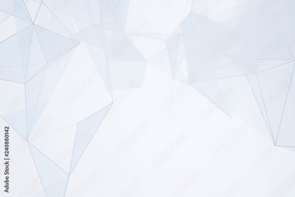 Abstract lines and shape illustration