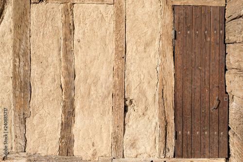 Slika na platnu mur d'une maison historique
