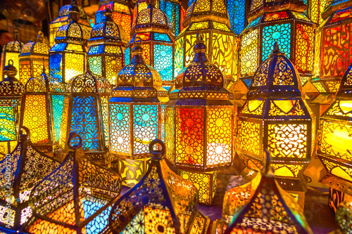 Foto op Canvas Egypte Amazing Arabian lamps, Cairo, Egypt