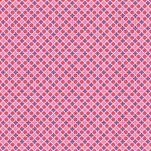 Seamless Quatrefoil Grid Pattern