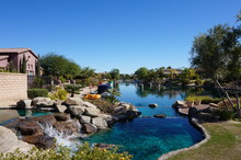 Rancho Mirage - Small Waterway