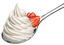 Whipped Frozen Yogurt Or Cream...