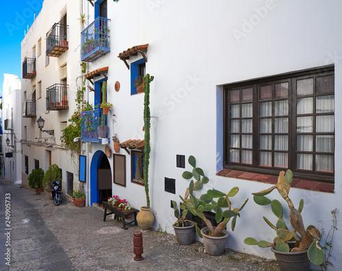 Peniscola old village in Castellon of Spain