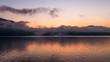 Walchensee Bergsee Sonnenaufgang Timelapse Zeitraffer Aufnahme