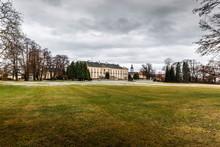 Castle Nove Hrady In Czech Republic