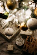 Bright Christmas Tree In Cozy ...