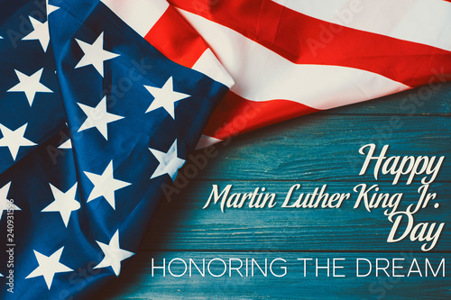 Photo  Martin Luther King Day background