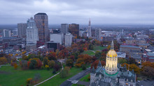 Hartford Connecticut Aerial Vi...