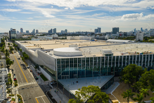 Aerial image Miami Beach Convention Center Fototapet