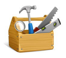 Vector Illustration Of Tool, H...