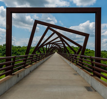 High Trestle Trail Bridge In R...