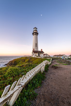 Pigeon Point Lighthouse At Sun...