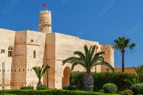 Fényképezés  Medieval Kasbah of Monastir city, Tunisia