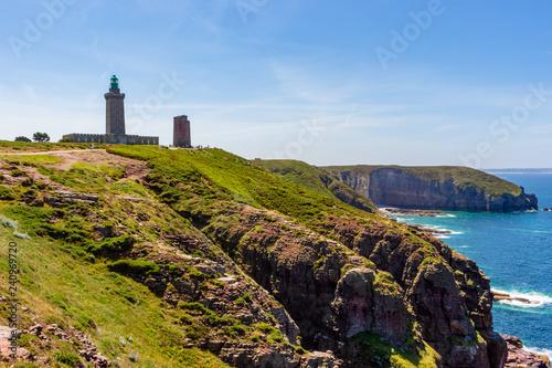 Garden Poster Lighthouse Cabo de Fréhel - 1