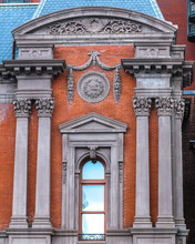 Architecture At The Corcoran Museum In Washington DC