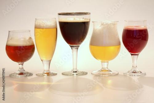 Photo  Belgian beer