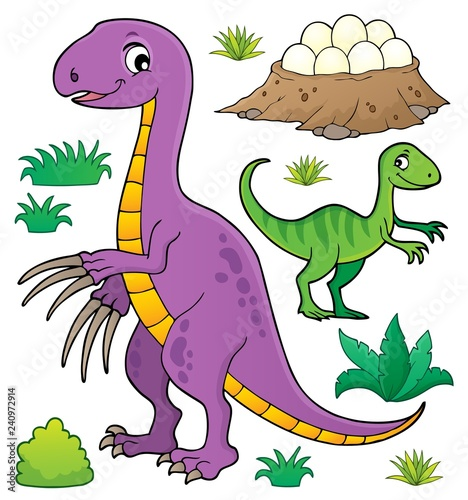 Dinosaur topic set 8