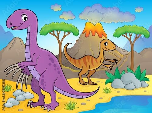 Image with dinosaur thematics 8