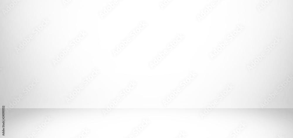 Fototapety, obrazy: white and gray studio background