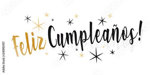 feliz cumpleaños,