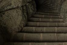 Stone Dungeon Cave Dark Downst...