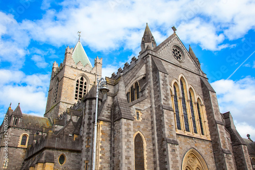 Christ Church Cathedral (The Cathedral of the Holy Trinity), Dublin Canvas Print