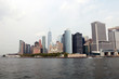 NEW YORK, USA - August 31, 2018: New York City panorama with Manhattan Skyline.