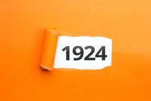 Surprising Number / Year 1924 ...