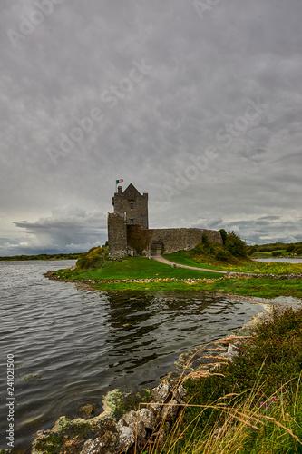 Obraz na plátně Dunguaire castle near Kinvarra in Co. Galway, Ireland, Europe