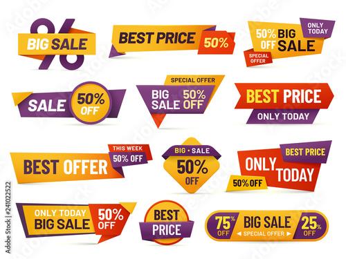 Fotografía  Retail sale tags