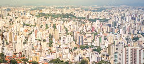 Stickers pour portes Delhi View of Belo Horizonte City Belo Horizonte, Minas Gerais/brazil December 12/23/2018