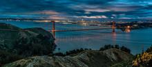 Night Panorama San Francisco