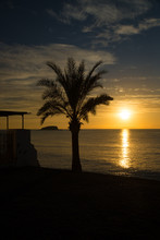 Idyllic Mediterranean Sunrise