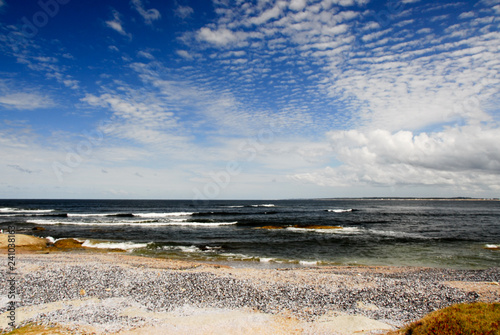 In de dag Zuid-Amerika land Jose Ignacio shore