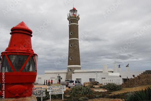 In de dag Zuid-Amerika land Jose Ignacio, Faro playa brava