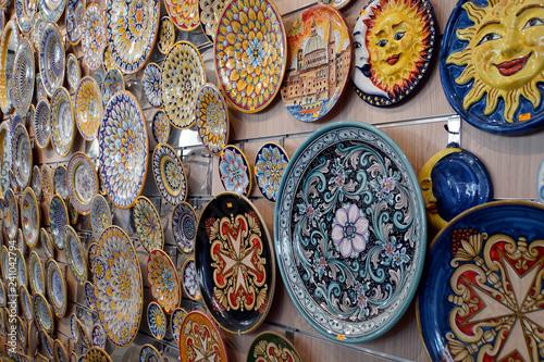 Fotografía  typisch maltesische Töpferware