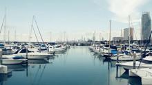 Yacht Bay Harbor Pier